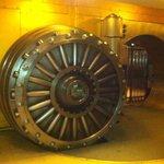 The Vault Door in the basement