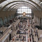 The main hall of Musee d'Orsay