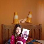 enjoying the room at santa fe !