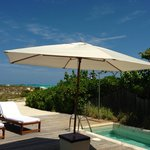 our beach house private plunge pool