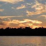 Sunset over Lake Minocqua