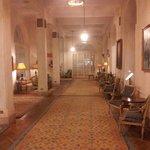 Hotel Entrance Corridor