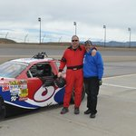 Me and my crew chief