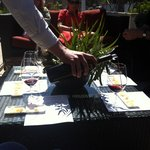 Wine tasting with Wine Country Walking Tours - how divine!