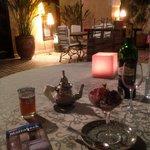 Relaxed dinner