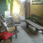 Área de descanso próximo a recepção