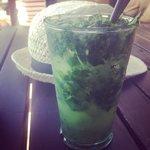 Very green mojito :)