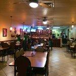 Cuban Diner interior
