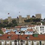 Castelo de São Jorge, not far from the hostel