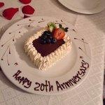 Special cake to celebrate