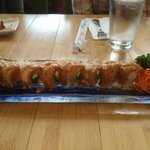 Oishi - Tiger Roll - delicious!