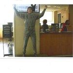 Statue of Rocky inside Visitor Center