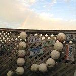 Rainbow over BOs