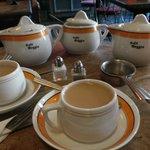 I loved the tea setting
