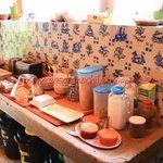 Cozinha e café da manhã