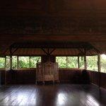 Inside the yoga & meditation studio