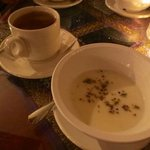 Chai and rose water pudding...yummm