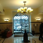 Lobby looking toward street entrance