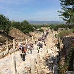 古代ローマの往時を忍ばせる風景
