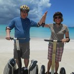 Great fun on the Segways!