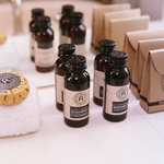 Complimentary luxury Appelles Apothecary bathroom amenities