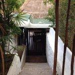 Eingang zur Miltonia Villa
