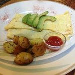 Brie, Proscuitto and Mushroom Omelette