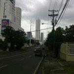 Vista de una calle cercana