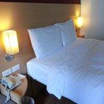 My room, nice mattress, soft pillows