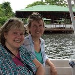 Enjoying the canals of Tortuguero!