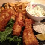 Solstice - fish and chips