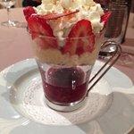 Cappucino de fraises...