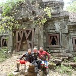 too remote temples with no other tourists