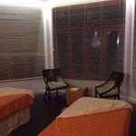 Spa treatment suite
