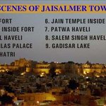 Sight scenes of JAISALMER town