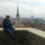 Вид на старый город со смотровой площадки Дворца