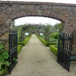 Walled garden walk