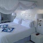 Bett aus Zimmer 105