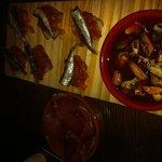 Tartine de sardinette et moules à l'escabèche