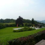 foto desde la terraza de hotel