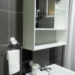 Bathroom with mirro cabinet