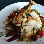 Guinea Fowl with Veggies