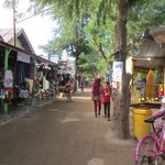 Down the street in Gili T
