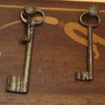chiavi di vecchi portoni