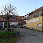 Landhaus Lebert, Aussen