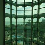 Vista dall'ascensore panoramico