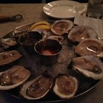 My massive plate of delicious oysters!