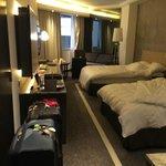 Espaçoso quarto do Marco Polo