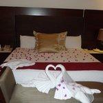 Honeymoon Suite Master Bed