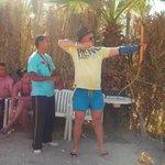 archery with GIGI
